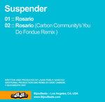 SUSPENDER - Rosario (Back Cover)