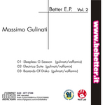 MASSIMO, Gulinati - Better EP (Back Cover)