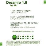 AIRI/SNACK SHOP - Dreamio 1.0 EP (Back Cover)