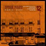 KOZO, Greg feat ESTEBAN GARCIA - Paris City (Front Cover)