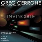 CERRONE, Greg - Invincible (Front Cover)
