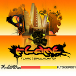 FLAME feat XZ32 - Digital EP 001 (Front Cover)