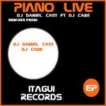 DJ DANIEL CAST feat DJ CARE - Piano Live (Front Cover)