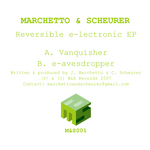 MARCHETTO & SCHEURER - Reversible E-lectronic EP (Back Cover)
