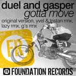 DUEL & GASPER - Gotta Move (Front Cover)