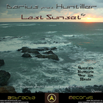 DARIUS presents HUNTILLER - Last Sunset EP (Back Cover)