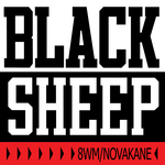 BLACK SHEEP - 8WM/Novakane (clean mixes) (Front Cover)