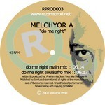 MELCHYOR A - Do Me Right (Front Cover)