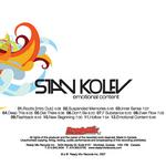KOLEV, Stan - Emotional Content (Back Cover)