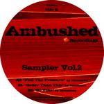 MONOMAN - Sampler Vol 2 (Back Cover)