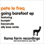 LE FREQ, Pete - Going Barefoot EP (Back Cover)