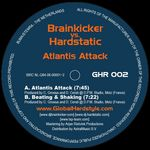 BRAINKICKER/HARDSTATIC - Atlantis Attack (Back Cover)