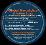 GLOBAL HARDSTYLERS - 6 Million Beats (Back Cover)