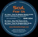 SCUL - Fear Us (Back Cover)