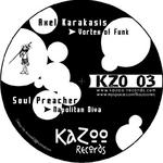 KARAKASIS, Axel/SOUL PREACHER - Vortex Of Funk (Front Cover)