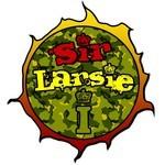 SIR LARSIE I/KHALIFA - Thanks & Praises EP (Front Cover)