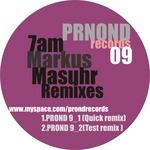 7AM - Markus Masuhr Remixes (Front Cover)