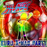HI NRG ATTACK ALL STARS - Euro X-Mas Party (Back Cover)