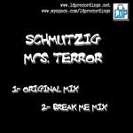 SCHMUTZIG - Mrs Terror (Front Cover)