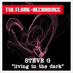 STEVE G - Living In The Dark (Front Cover)