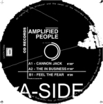 AMPLIFIED PEOPLE - Cannon Jack EP (Front Cover)
