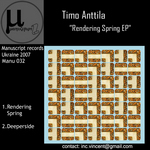 ANTTILA, Timo - Rendering Spring (Front Cover)