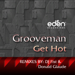GROOVE MAN - Get Hot (Front Cover)