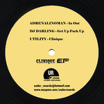 ADRENALINOMAN/DJ DARLING/UTILITY - Clinique (Back Cover)