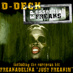 D-DECK/FREAKADELIKA/ANTONY ALTI - Essential Freaks EP (Front Cover)