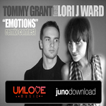 GRANT, Tommy feat LORI J WARD - Emotions (Remix Samples) (Front Cover)