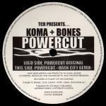 KOMA & BONES - Powercut (Front Cover)
