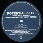 McCORMACK, Chris - There Are Better Ways (Ignition Technition Remixes) (Front Cover)