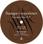 SUNAGA T EXPERIENCE - European Suite EP (Front Cover)