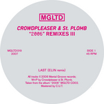 CROWDPLEASER & ST PLOMB - 2006 Remixes (part 3) (Front Cover)