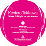 TAKIZAWA, Kentaro feat LISA SHAW - Make It Right (Front Cover)
