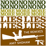 SHOHAM, Amit - No More Lies (The Remixes) (Front Cover)
