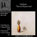 TWITCHYWU - This Is A Positive Test (Front Cover)