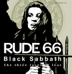 RUDE 66 - Black Sabbath (The Three Faces Of Fear) (Front Cover)