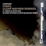 FASKIL - Clear Mayhem Remix EP (Back Cover)