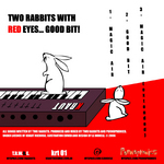 TWO RABBITS WITH RED EYES - Good Bit (Back Cover)
