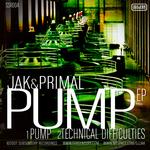 PRIMAL & JAK - Pump EP (Front Cover)