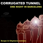 CORRUGATED TUNNEL - One Night In Barcelona (Back Cover)