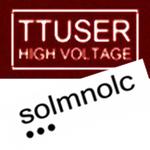 TTUSER - High Voltage (Front Cover)