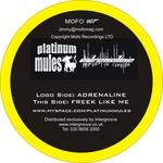 PLATINUM MULES - Adrenaline (Back Cover)