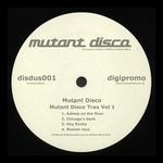 MUTANT DISCO - Mutant Disco Trax Vol 1 (Front Cover)