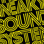 SNEAKY SOUND SYSTEM - UFO (Front Cover)