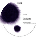 FRIENDLY PEOPLE - Improper Remixes (Front Cover)