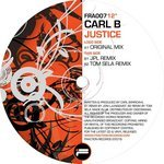 CARL B - Justice (Front Cover)