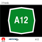 3 FRIENDS - A12 (Front Cover)