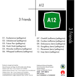 3 FRIENDS - A12 (Back Cover)